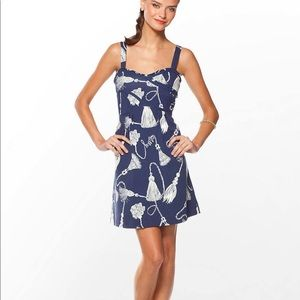 Lilly Pulitzer Vanessa Navy Behind the Rope Dress